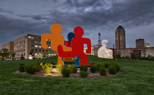 Pappajohn Sculpture Park  - Des Moines, IA | by w4nd3rl0st (InspiredinDesMoines)