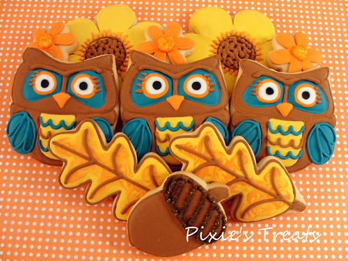 autumn owl treat fall - photo #6