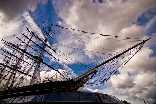 Greenwich - Fast Ship? You've Never Heard of the Cutty Sark? - 09-11-12 | by mosley.brian