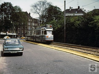 GVB Amsterdam 885, Lijn 10, Spinozastraat (1974) | by Library of Amsterdam Public Transport