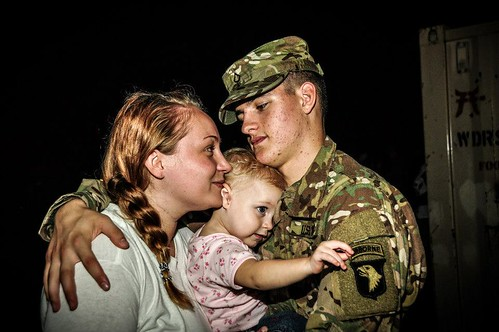 Saying goodbye | by The U.S. Army