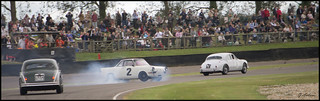 BMW Saloon car spinning | by Graeme Andrews