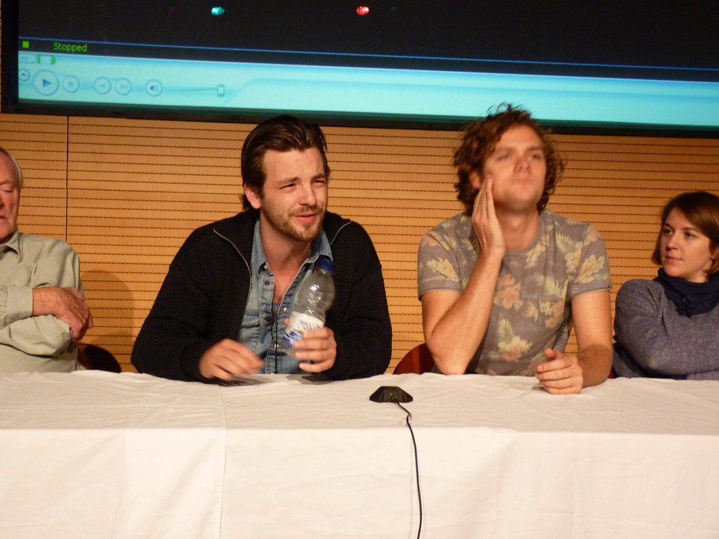 Gethin anthony and finn jones