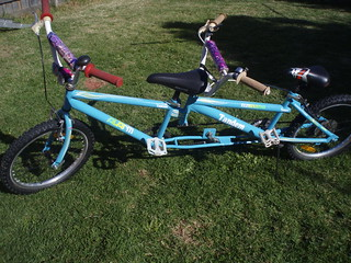 "Project ""Tandem BMX"" gets painted 