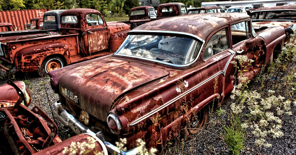 Old, Rusty Classic Cars and Trucks 002 | Darryl Moran | Flickr