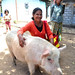 Veronica Casimira, mentor to eight self-help groups in the Bobonaro region, and proud owner of livestock in Memo village, Timor-Leste