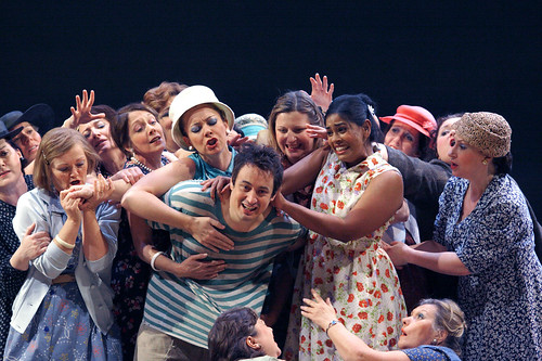 Stefano Secco as Nemorino in L'elisir d'amore © Catherine Ashmore | by Royal Opera House Covent Garden
