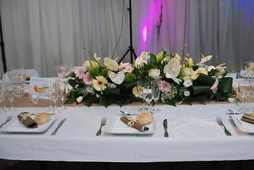 decoration table des maries par festidomi decor table. Black Bedroom Furniture Sets. Home Design Ideas