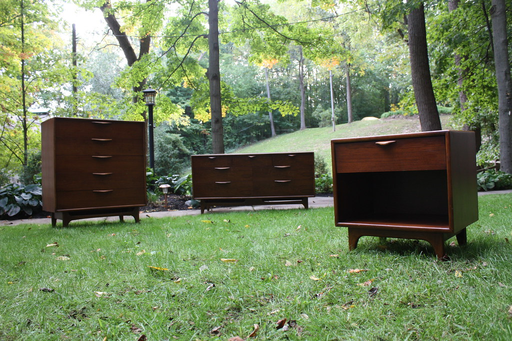 ... Lascivious Lane Perception Mid Century Modern Bedroom Set (U.S.A.,  1960u0027s) | By Kennyk