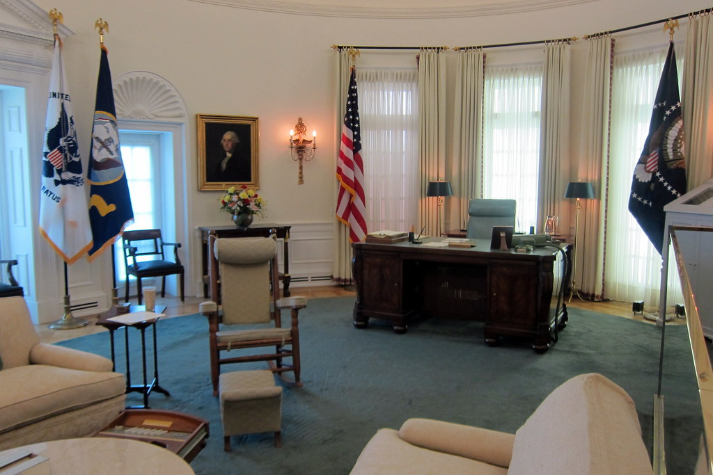 lbj oval office. Austin - UT: LBJ Library And Museum Oval Office | By Wallyg Lbj