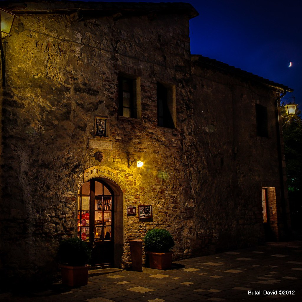 Osteria del leone bagno vignoni si un luogo dove il te flickr - Osteria del leone bagno vignoni ...