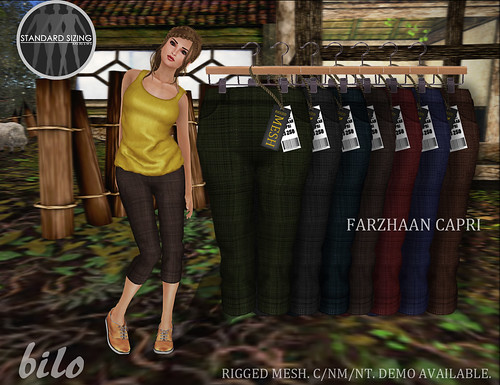 Farzhaan Carpri (All Colors) | by Mayaa Thistle / Apsara / Jalwa / Bilo