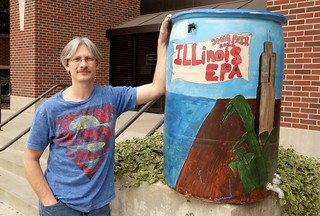 2012 Rain Barrel Raffle Winner | by Illinois EPA