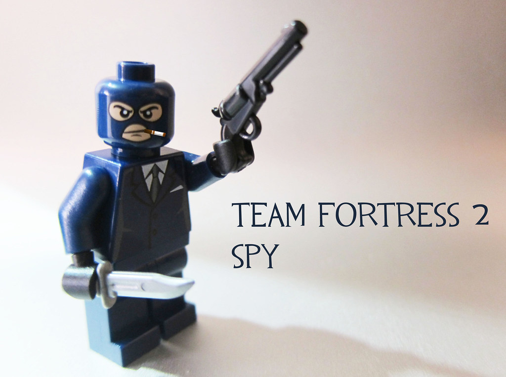 Team Fortress 2 Spy | When I got this head I knew it had to … | Flickr