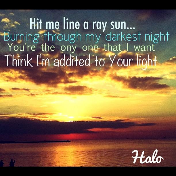 Beyonce sunshine lyrics