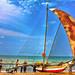 Browns Beach at Negombo, Sri Lanka