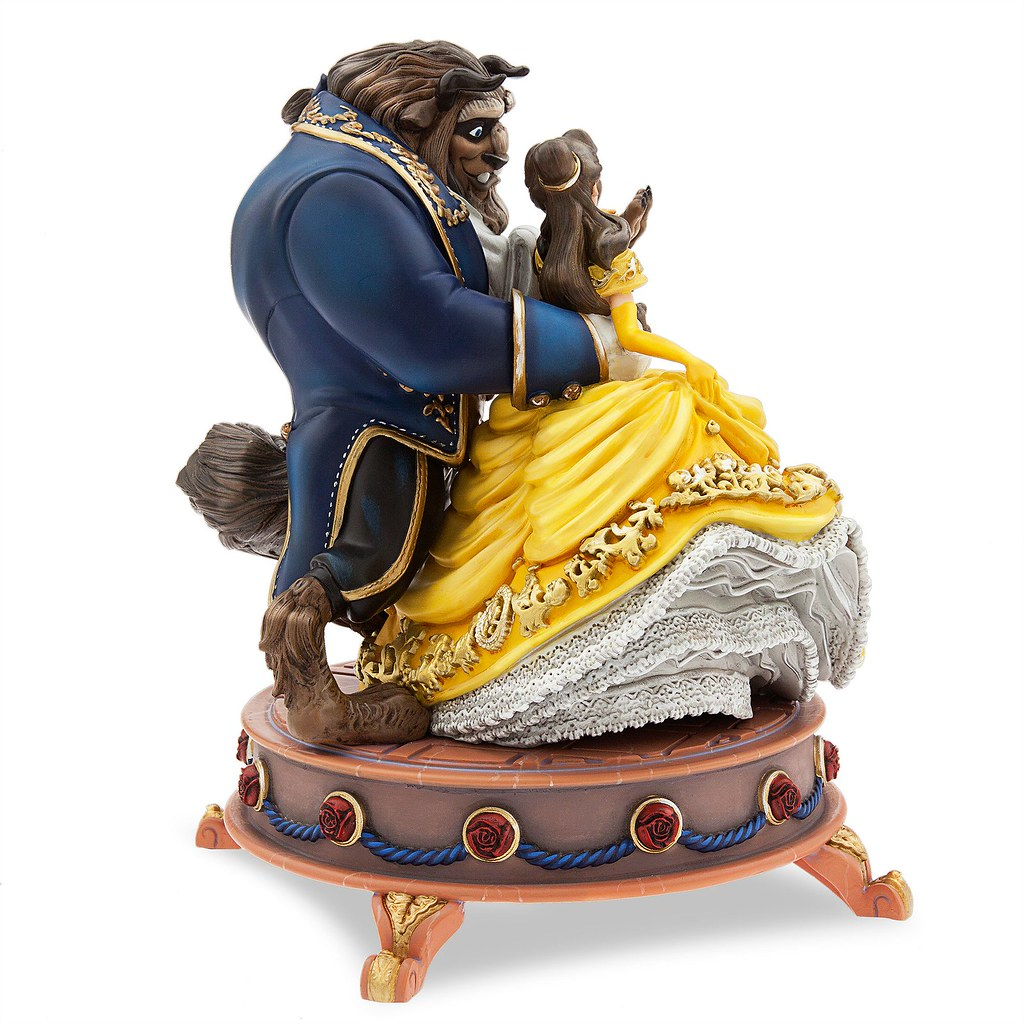 Beauty And The Beast Limited Edition Figurine Us Disney