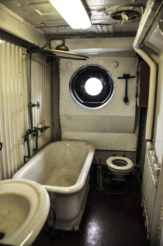 Commodore s bathroom on the uss olympia c 6 us navy crui flickr
