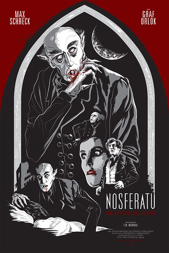 Nosferatu Screen Print | by Changethethought