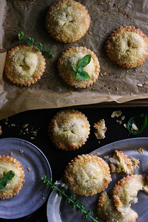 White Peach, Rose, and Basil Hand Pies | by Beth Kirby | {local milk}