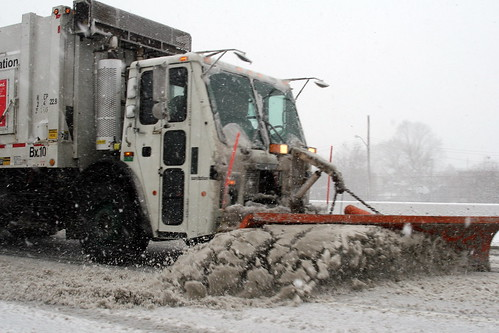 Snow Clearing in Bronx | by New York City Department of Sanitation