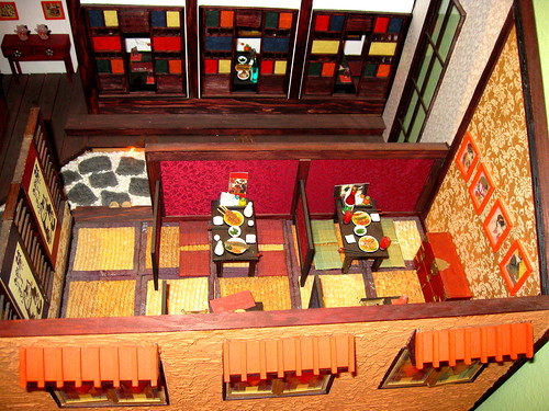 Seoul Korea Insa-dong arts district cool miniature model of cozy Asian-style restaurant | by moreska