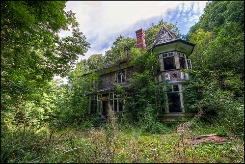 The house in the woods a small abandoned manor house in so flickr - The house in the woods ...