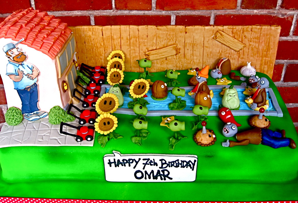 Plants Vs Zombies Cake Mold