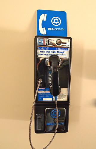 Bellsouth And At Amp T Hang Up On Pay Phones From