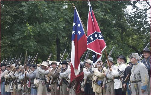 Confederate Flags -- Boonsboro (MD) Civil War Reenactment September 8, 2012