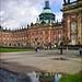 Palast mit Spiegelung