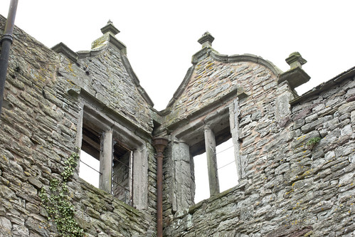 Castle House, Hay - Finials and shaped gables characteristic of the early to mid-seventeenth century | by Royal Commission