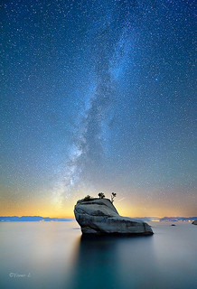 Milky way over Bonsai Rock | by Yan L Photography