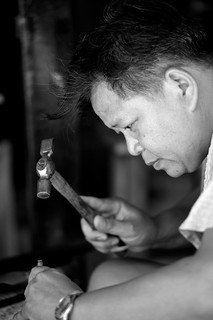 SILVER WORKER , Chiang Mai | by Morrisy12345