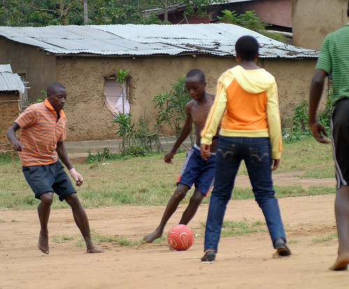 Pickup Soccer Game 2012: Rwanda Africa SEP 08 | by 760 Wedding Photography