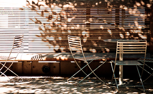 Dappled Light & Tables | by Orbmiser