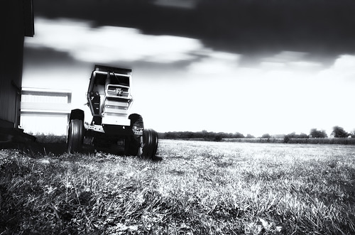 Day 266: Tractor in Pasture | by rmshaffer