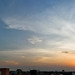 sky panorama from my college terrace