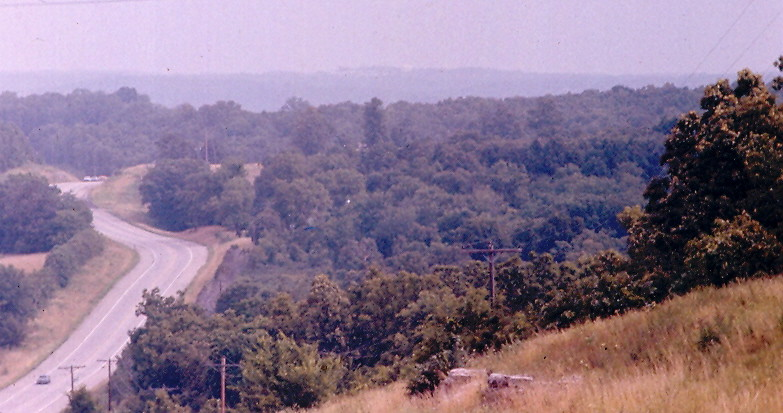 Rolla Mo From Pilot Knob 15 July 1984 Here Is A