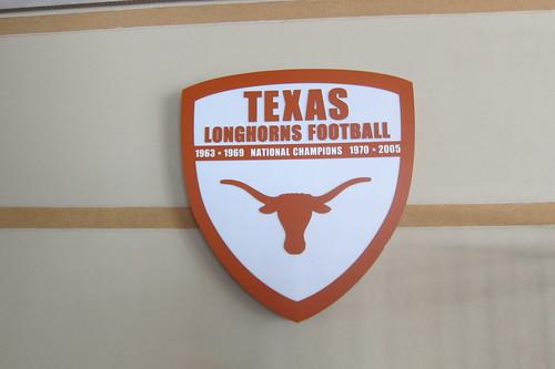 Texas Football Locker Room