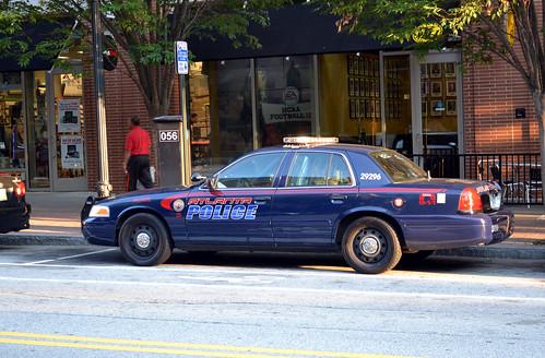 Atlanta Police Department 2009 Ford Crown Victoria Zon