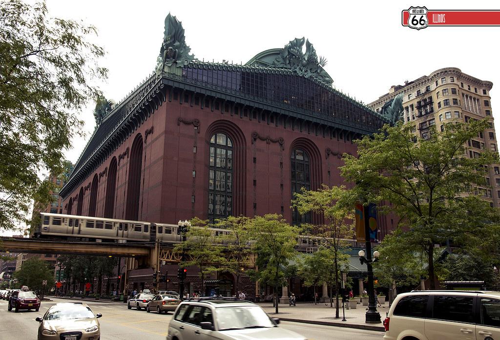 Harold Washington Library Center The Loop Chicago Il