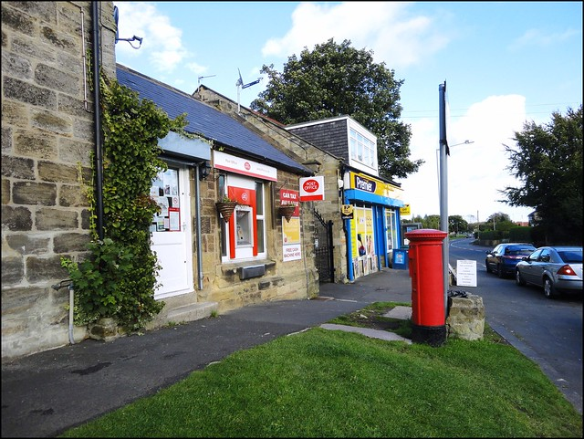 Ellington Northumberland Post Office With Postbox