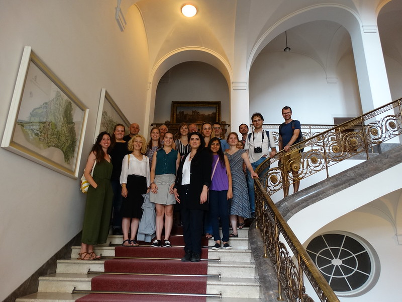 Kick-off seminar Social Media Volunteers for Heritage - Weimar 28/08 - 02/09/2016