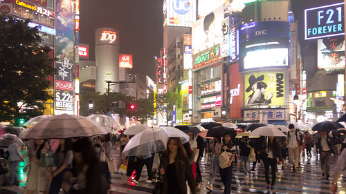 Shibuya Crossing in the rain. | by jdnx
