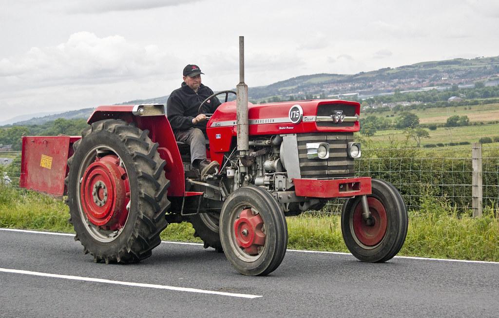 195 White Tractor : Massey ferguson multi power dieseltractor