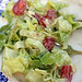 green salad with bleu cheese dressing
