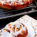Apple Cinnamon Rolls with Jack Daniels Cream Cheese Frosting