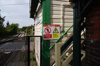 Billingshurst Station Signal box | by Lord Cogsby