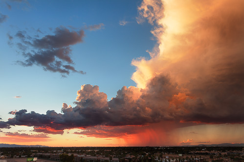 The sun sets on the monsoon | by Mike Olbinski Photography